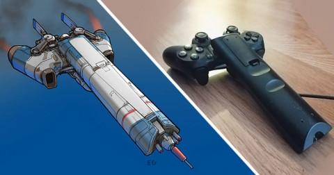 Khi những sản phẩm dùng hằng ngày biến thành tàu vũ trụ