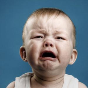 Em bé đang khóc