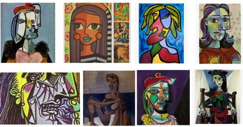 Cách nhận biết hài hước về tranh của các họa sĩ nổi tiếng