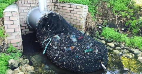 Hệ thống lọc rác đơn giản nhưng vô cùng hiệu quả ở Úc