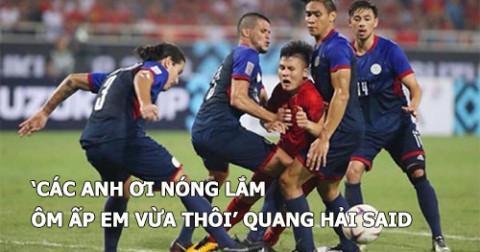 Những bức ảnh có 1-0-2 trong trận Việt Nam gặp Philippines