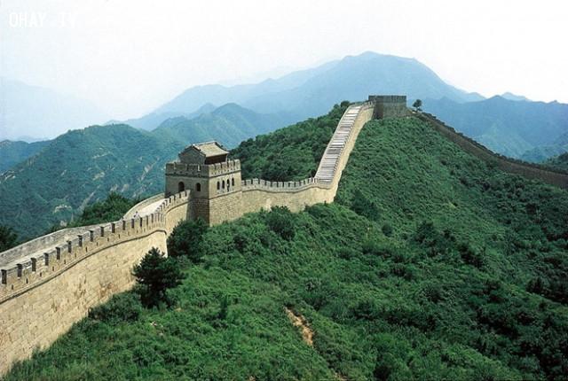 Hầu hết các bức tường thời kỳ xây dựng đầu tiên không còn tồn tại. Vạn Lý Trường Thành chúng ta thấy ngày nay được xây dựng chủ yếu trong thời nhà Minh (1368-1644).,vạn lý trường thành,sự thật thú vị,có thể bạn chưa biết,trung quốc