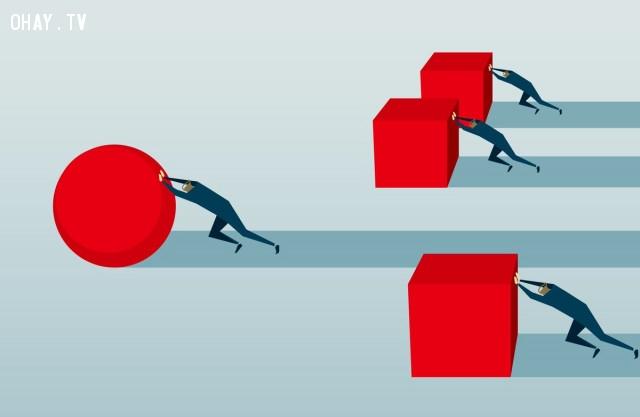 Bận rộn không có nghĩa là hiệu quả.  ,sự thật cuộc sống