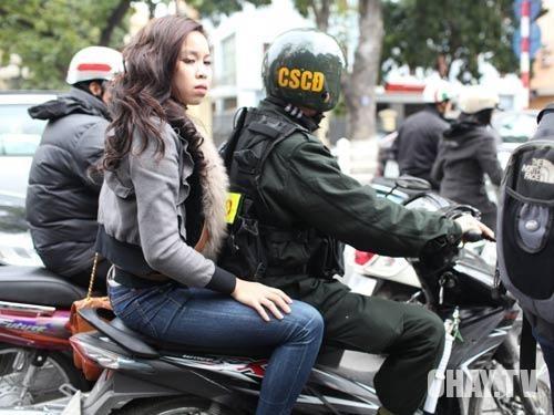 ,cảnh sát cơ động,công an phường,trật tự đô thị