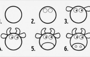 Cách vẽ động vật siêu đơn giản từ hình tròn